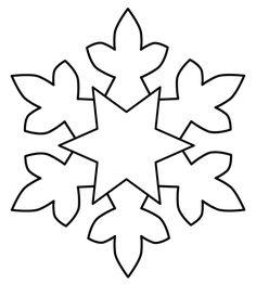 Fiocchi Di Neve Disegni Da Stampare E Ritagliare Hópelyhek