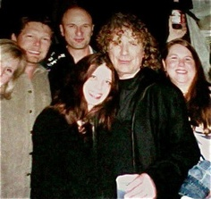 Taken the night I saw Robert Plant - Gypsy Tea Room in Dallas. Yep that's Robert...  I've seen him three times but this was by far the best show - played every Zeppelin song that I loved :)