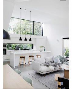 Best Scandinavian Home Design Ideas. 57 Trending Interior Modern Style Ideas For Your Perfect Home This Summer – Cosy Interior. Best Scandinavian Home Design Ideas. Interior Design Kitchen, Modern Interior Design, Interior Design Inspiration, Home Decor Inspiration, Interior Architecture, Design Ideas, Interior Ideas, Minimalist Interior, Design Interiors