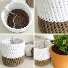 Ideas diy box bag fabric basket for 2019 Rustic Pallet Ideas, Diy Fashion Tops, Crochet Diy, Diy Box, Crochet Blanket Patterns, Lana, Sewing Projects, Diy Crafts, Fabric Basket