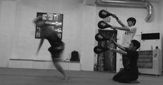 Tai Chi, Kung Fu, Wing Chun, Swords — Mind their legs! If you train kung fu kicks, you...