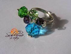Sublime Metier Gemstone Rings, Gemstones, Handmade, Jewelry, Fashion, Moda, Hand Made, Jewlery, Bijoux