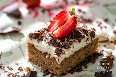 Jahodové řezy   Hodně domácí Tiramisu, Fruit Cakes, Ethnic Recipes, Tarts, Food, Mince Pies, Pies, Essen, Meals