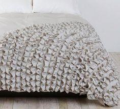 Duvet cover texture