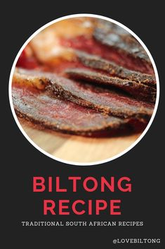 The Best Biltong Recipe To make the best biltong, you need the best biltong recipe. The recipes below, have all been used in my family. The silverside beef recipe is known as the traditional recipe as it contains the best mix of spices. How To Cook Silverside, Silverside Beef, Jerky Recipes, Rib Recipes, Snack Recipes, South African Recipes, Chutney Recipes, Food Facts, Sausages