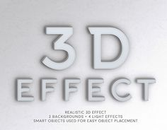 """Check out new work on my @Behance portfolio: """"3D Effect"""" http://be.net/gallery/46707677/3D-Effect"""