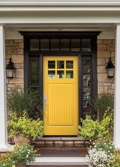 Pella S New Vibrant Color Collection Reinvents Entry Door Personality Enhance Your E With Animated Yellow