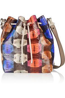 Proenza Schouler Elaphe bucket bag | NET-A-PORTER