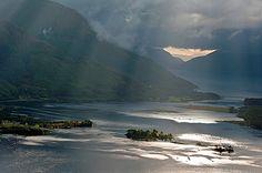 ༺✿༺  Loch Leven, Lochaber, Scotland.