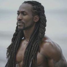 """eshusplayground:  Yoinked for the """"poc edain"""" tag. Also for the elves of color because he could be a fly-ass Glorfindel. Or maybe even Fingon."""