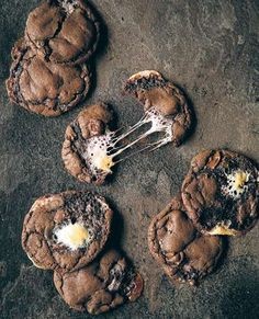 S'more cookies recipe from Man Food by Billy Law | Cooked