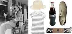 For next summer. and a Coke! Tomboy Style: UNIFORM   Beach Burger