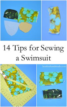 I love sewing swimsuits, and I know you can make one too. A handmade, custom swimsuit gives you so much confidence while playing in the water! Once you learn the basics of sewing a swimsuit you can make any swimsuit you dream up. Here are 14 Tips to Sew a