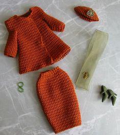 Crochet pattern PDF for Silkstone Barbie doll by PrincessOfCrochet