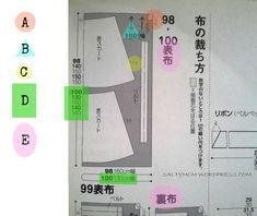 Cómo leer patrones de revistas de costura japonesas