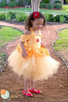 Belle Tutu Dress Beauty and The Beast Outfit by SoleilCreations