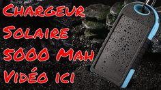 Chargeur Solaire 5000mah USB Anti shock et résistant a L eau Review par ...