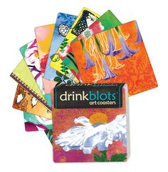 Magnet Works Coasters - Flower Silhouette