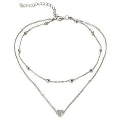 Product Information Product Type: Choker Necklace Size: Adjustable 30 - 37 cm heart choker gold silver tiny chain Pets For Sale, Heart Choker, Necklace Sizes, Silver Necklaces, Selena, Chokers, Nice Jewelry, Jewelry Making, Log Cabins