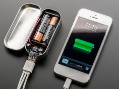 The Minty Boost Kit. Build your own battery pack that works with iPhone 4 & 5 and more. $19.50