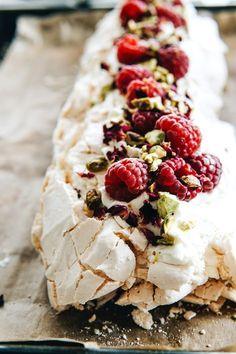 Sweet Recipes, Cake Recipes, Dessert Recipes, Fancy Desserts, No Bake Desserts, Meringue Cake, No Bake Cake, Cake Cookies, Finger Foods