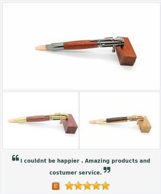 Beautifully Crafted, Hand turned, Exotic Wood Pens  by BoardArtistry…