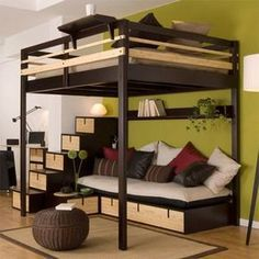 "terrific tips on ""modern bunk beds for adults""., Receive terrific tips on ""modern bunk beds for adults""., Receive terrific tips on ""modern bunk beds for adults"". Adult Loft Bed, Adult Bunk Beds, Girls Bunk Beds, Bed For Girls Room, Cool Bunk Beds, Bunk Beds With Stairs, Small Room Bedroom, Bedroom Loft, Bedroom Ideas"