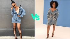 WHO STUNNING!!!!! Nomzamo Mbatha vs Ayanda Thabethe