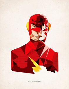 The Flash in Polygons-- How fun would this be to show in school when teaching shapes?!