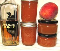 Peach Honey Bourbon Jam