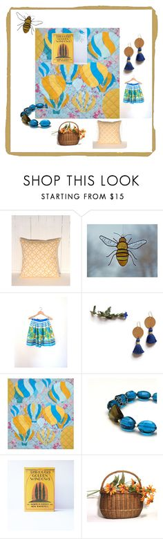 """""""through golden windows"""" by ohziedesigns ❤ liked on Polyvore featuring vintage"""