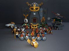 The Hobbit Game, Chateau Lego, Lego Minifigs, Lego Military, Lego Castle, Jurassic Park World, Cool Lego Creations, Lego Projects, Custom Lego