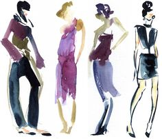 How To Draw Clothes Design Sketches - Viewing Gallery