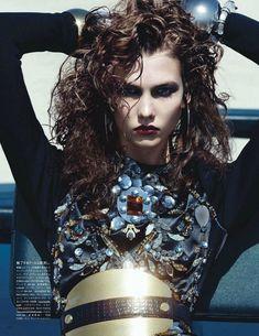 Karlie Kloss for Vogue Japan September 2012 Shoot