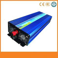 5KW 12v dc to 110v/230v ac electrical pure sine wave inverter off grid 5000w #Affiliate