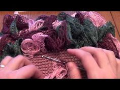 This is a video on how to crochet a sashay toddler skirt. This is the pattern for this skirt, http://amray1976.blogspot.com/2013/02/crochet-sashay-ruffle-toddler-skirt.html