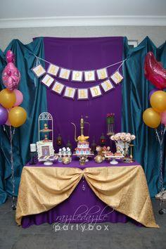 Razzle Dazzle Party Box: Theme Birthday Party: Moroccan Arabian Night