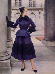 Christian Dior 1948 Photo Philippe Pottier