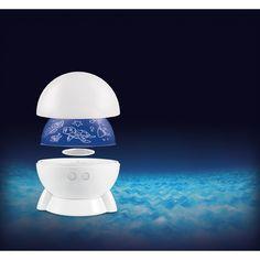 Eduplay, Lichtprojektor Projektor und Nachtlampe in einem - für leichteres Einschlafen und weniger Angst im Du | 110323 / EAN:4260372715261