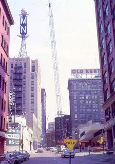 Ionia looking north toward Monroe Center - c. 1966