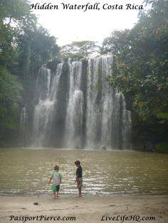 Hidden Waterfall, Costa Rica