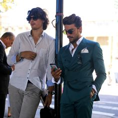 Mariano Di Vaio, an Italian fashion blogger, after the Tommy Hilfiger show during New York Fashion Week. (Photo: Craig Arend for The New York Times)