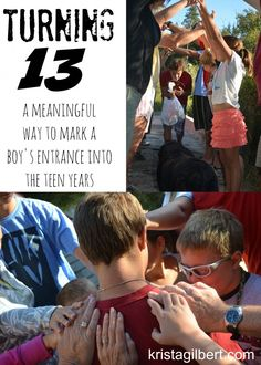 A 13th birthday is a big deal. We want to bless them and cover them in prayer and love. This is a creative way to do just that.