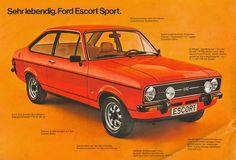 I always wanted one of these XD. 'Αυτοκίνητα:με ποια έχουμε συνυπάρξει και οι εντυπώσεις μας.' [Ford Escort Sport #car.]