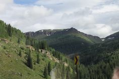 On our way to Silverton from Durango