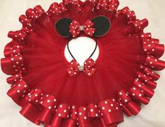 *This listing is for the tutu skirt only*** Beautiful handmade tutu for your little princess, perfect for birthdays, halloween, photo sessions, or any special occasion. This tutu is made with over 25 yards of tulle for the smallest size with a combination First Birthday Tutu, Minnie Birthday, Baby Tutu, Baby Dress, Ladybug Tutu, Red Minnie Mouse, Christmas Tutu, Red Tutu, Tulle Rolls
