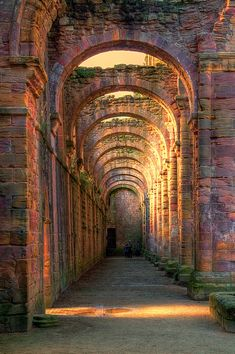 Arches At Fountains Abbey