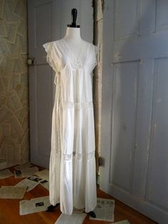 1970s doing 1920 semi sheer dress/gown