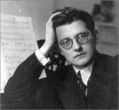 Dmitri Shostakovich, my favorite composer and favorite picture of him.