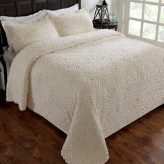 Bedroom Updates, Old Country Stores, Room, Chenille Bedspread, Home Decor, Bed, Cracker Barrel, Beautiful Bedding, Bedroom